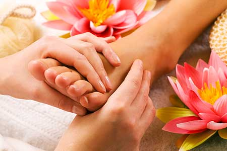 Cannabis Infused Reflexology