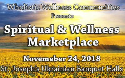 November 24th 2018 – Oakville Spiritual & Wellness Marketplace!