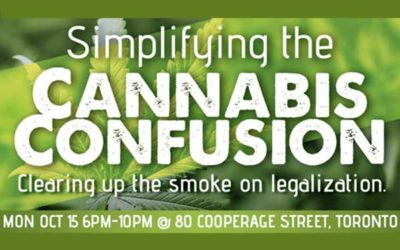 October 15th 2018 – Simplifying The Cannabis Confusion
