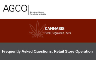 AGCO – Frequently Asked Questions: Retail Store Operation