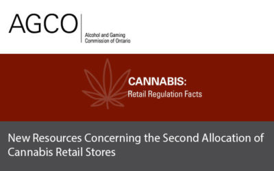 New Resources Concerning the Second Allocation of Cannabis Retail Stores